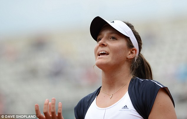 No pressure: Robson says she does not feel the weight of expectation from the British public