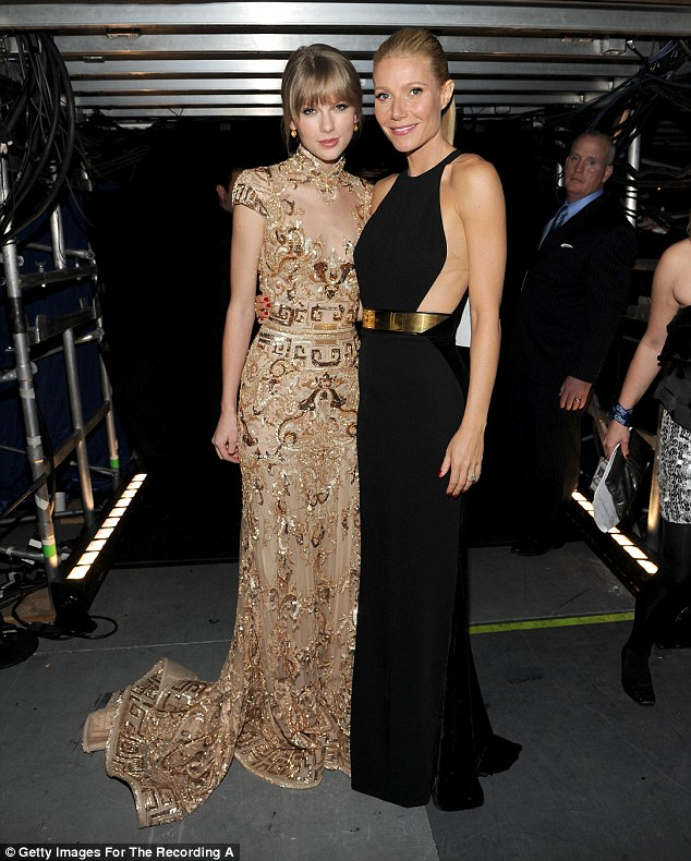 Firm friends: The BFFs try to catch up at red carpet events, pictured at the Grammy's in 2012