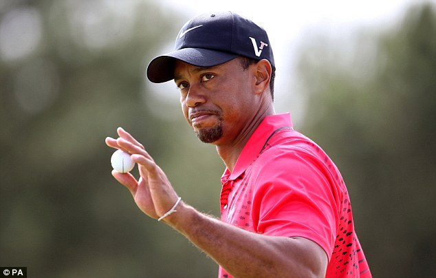 Race row: Garcia hopes to meet Tiger Woods in person during the week