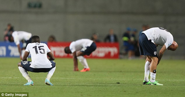 Experience: England were without some key men in Israel,while the Dutch have 65 caps in their squad