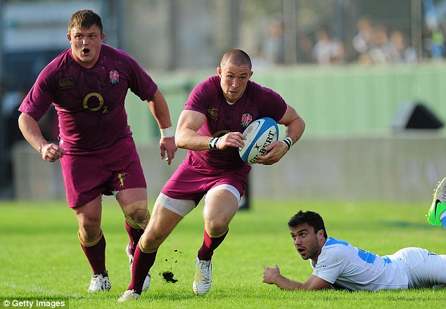 Promising: England put on a show against Argentina in Salta on Saturday