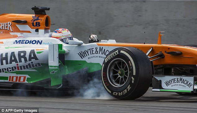 Main man: Paul Di Resta delivered a masterclass in tyre preservation as he finished seventh in Montreal