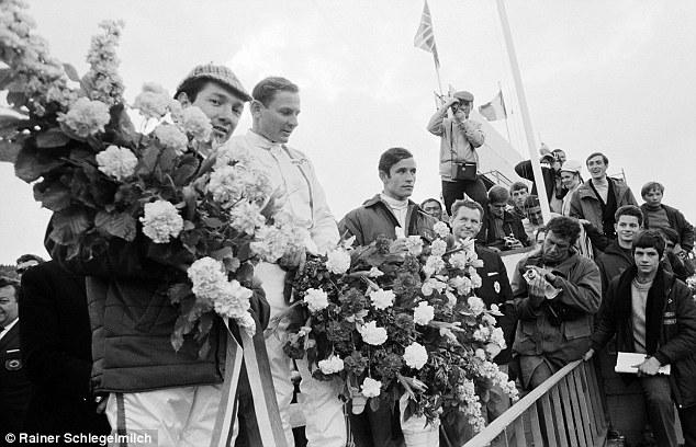 Glory days: Bruce McLaren won the McLaren team's first race in Belgium 45 years ago