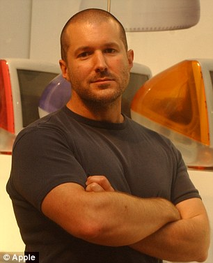 Jonathan Ive took over from Scott Forstall as head of design at Apple in October 2012