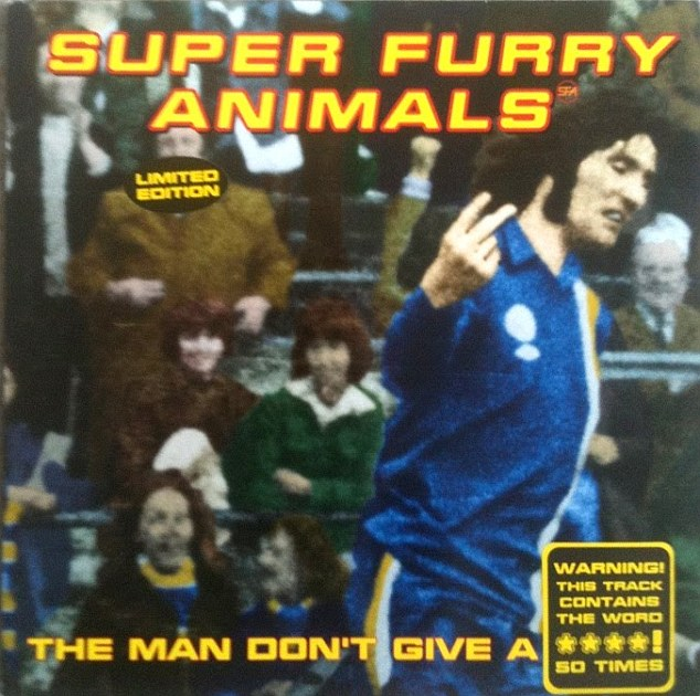 Record deal: Super Furry Animals used the picture of Robin Friday on one of their singles