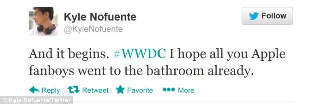 WWDC tweets