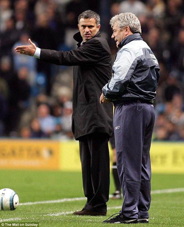 Mourinho and Kevin Keegan