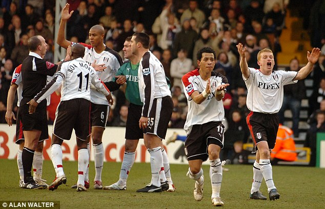 Fulham players