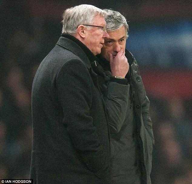 Sir Alex Ferguson and Jose Mourinho