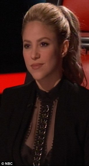 xcvEnd of the road: Adam Levine and Shakira's remaining contestants on The Voice were booted out on Tuesday's show