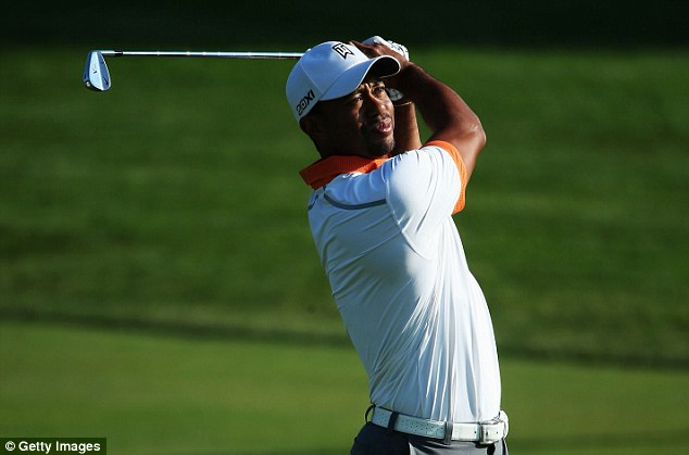 Ultimate prize: Woods is hoping to win his 15th major and creep towards Jack Nicklaus' total of 15