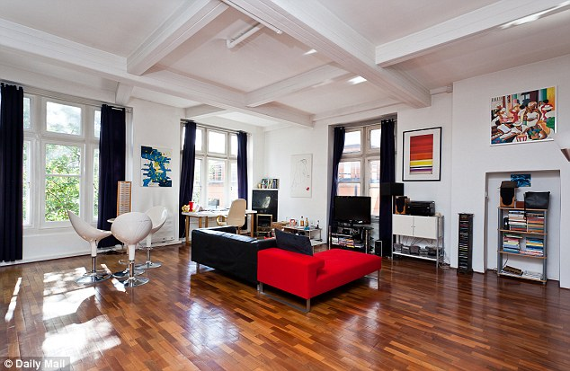 Amenities: The Knightsbridge flat is tastefully decorated and close to some of the country's most high-profile shops