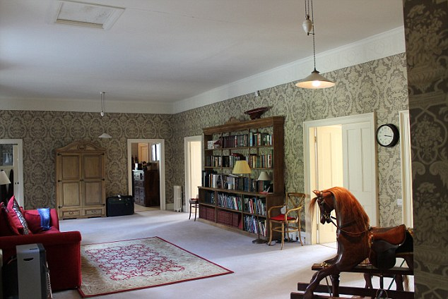 Large: This is one of the many rooms inside the spectacular mansion