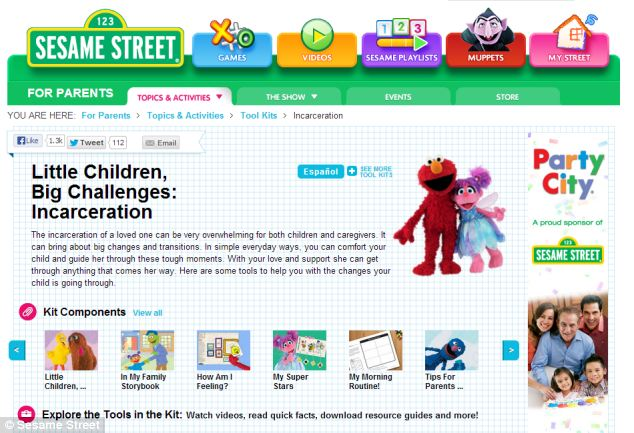 A toolkit of resources has been uploaded onto the Sesame Street website including videos, printable brochures, eBooks and apps.