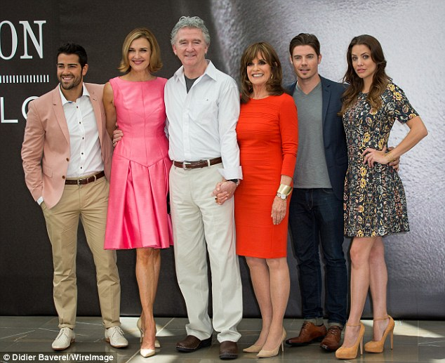 Ready for more: Six of the remaining Dallas cast members promoted the third season of the TNT soap at the 53rd Monte Carlo Television Festival in Monaco Wednesday