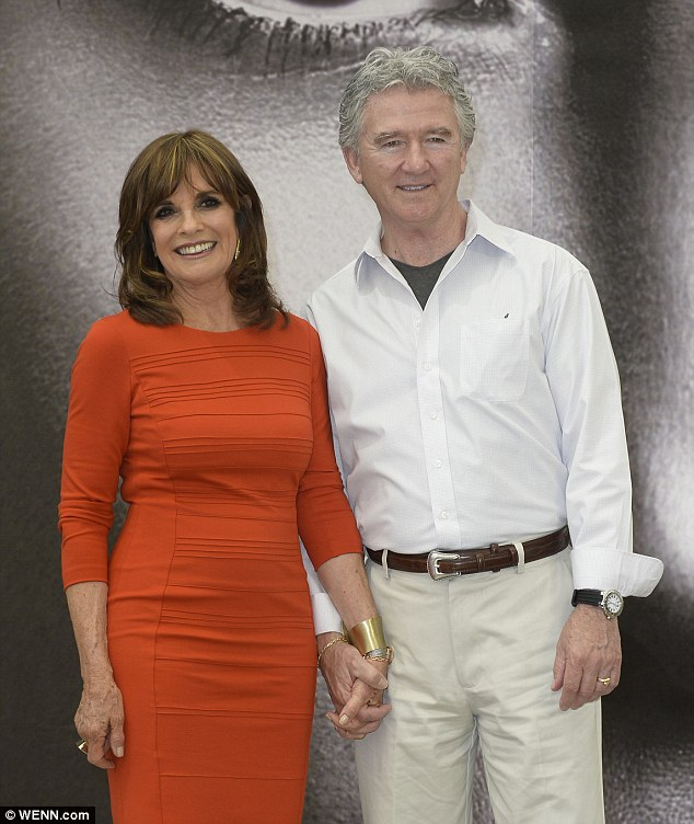 Longtime friends: It's no surprise the two-time Golden Globe nominee, posing with Patrick Duffy, landed on People magazine's annual Most Beautiful list