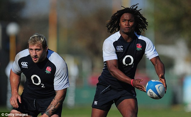 Chance to shine: Marland Yarde looks set to play in the second Test