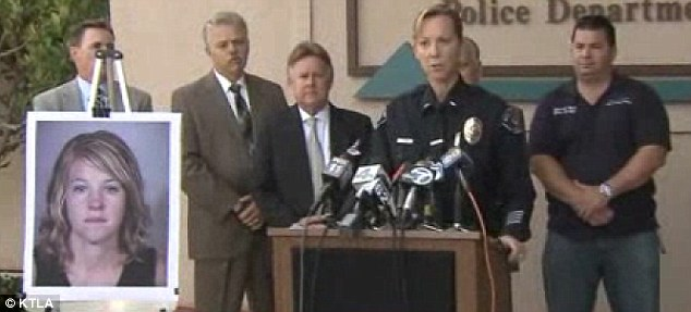 Serious allegations: Police and school authorities held a press conference on Wednesday to reassure the public following Brooks' arrest