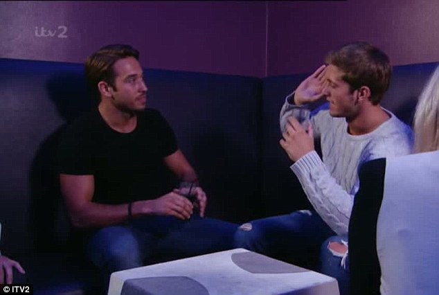 He knows the truth! TOWIE newcome Dan Osborne tells his best friend James Locke it was Ricky