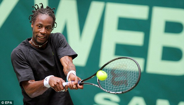 Out: Gael Monfils has pulled out of Wimbledon owing to personal reasons