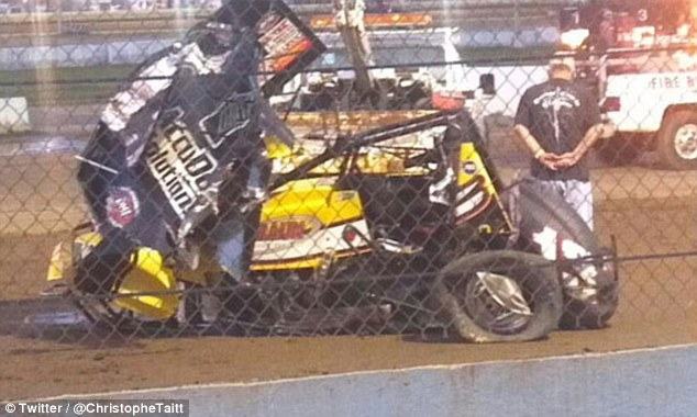 Jason Leffler was pronounced dead Wednesday night after his car flipped at a race in New Jersey