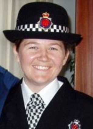 PC Bone managed to draw and fire her Taser but was also hit eight times