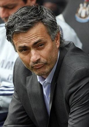 Mourinho at Newcastle