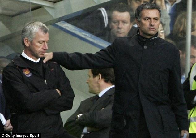 Pardew and Mourinho
