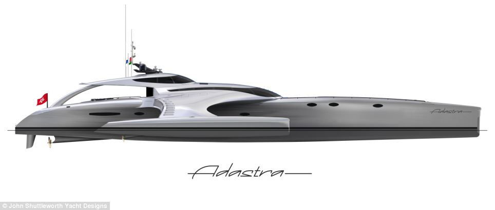 The designers say Adastra is the result of meticulous attention to detail and innovative design