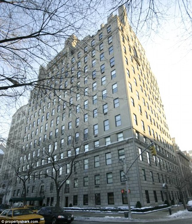 New York home: 834 Fifth Avenue where Rupert Murdoch and Wendi Deng live in a triplex on the top floors. Rupert bought it for $44million in 2005