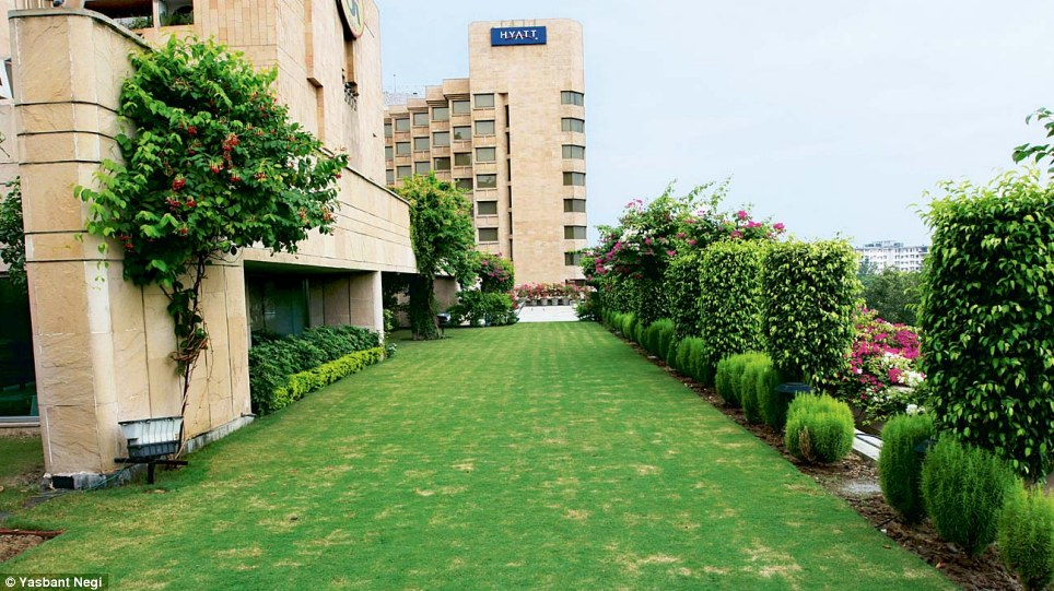 Jindal Lawns in Delhi is another of the family's assets