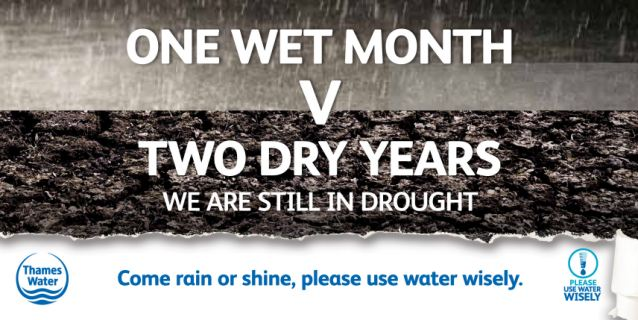What drought? Thames Water imposed a hosepipe ban despite some of the wettest weather on record
