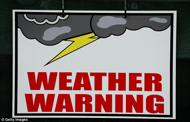 Weather warning: The forecasters got their way at Merion