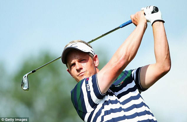 First major? Luke Donald put himself in the reckoning after a good start