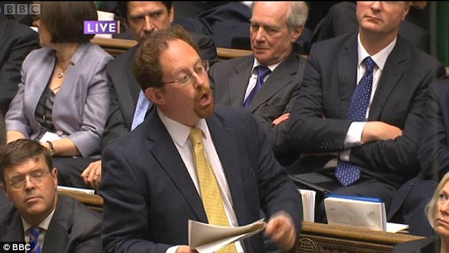 Victim? During his recent performance at PMQs, Julian Huppert's fellow MPs' insults were, he said, setting 'a very bad example' to the country