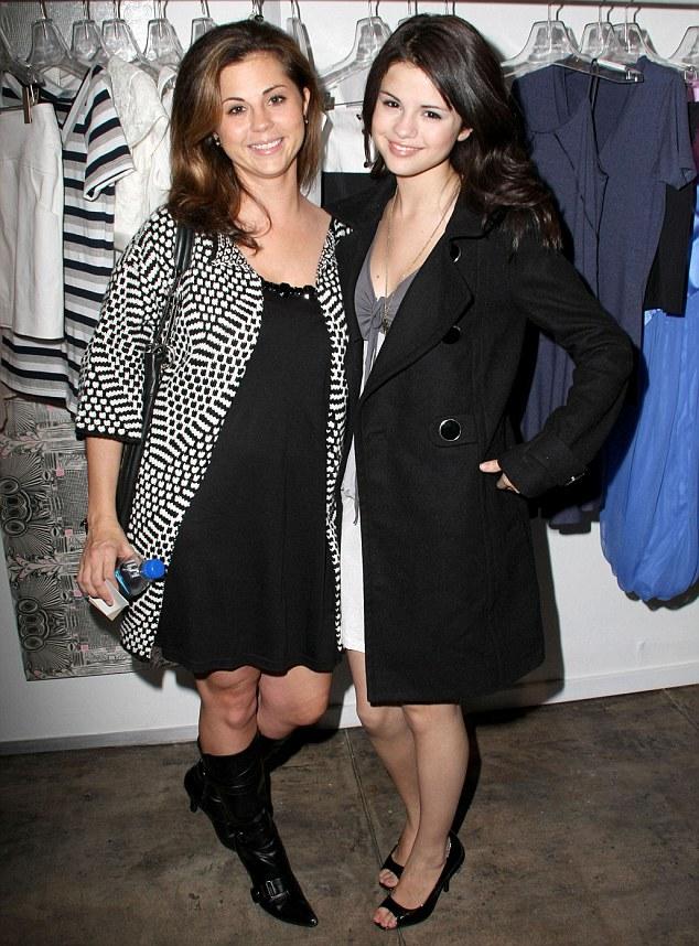 Baby joy: Selena Gomez mom Mandy Teefey has a baby girl in Los Angeles on Thursday