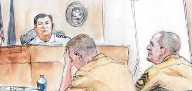Bohlayer faces court martial on charges of rape, indecent exposure and disorderly conduct