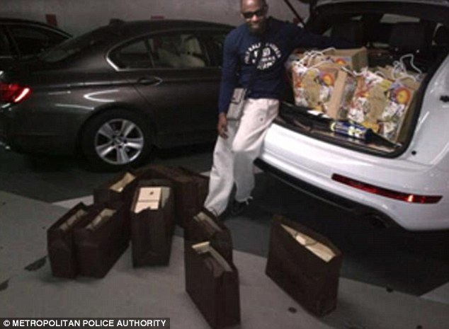 A gang of drug dealers who enjoyed a millionaire lifestyle after flooding the capital with more than £5.5m worth of heroin have been jailed for a total of 72 years