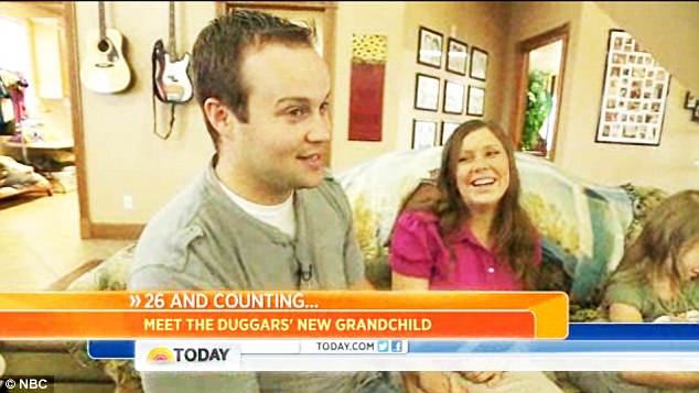 Proud parents: Josh and Anna Duggar spoke to the Today show about their newest arrival Marcus Anthony, on Friday