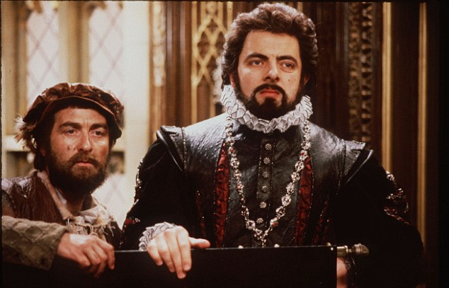 Recognition: The Blackadder star, left, was nominated for his 'public and political services'