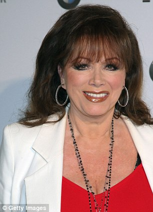 Writer Jackie Collins has also been awarded an OBE