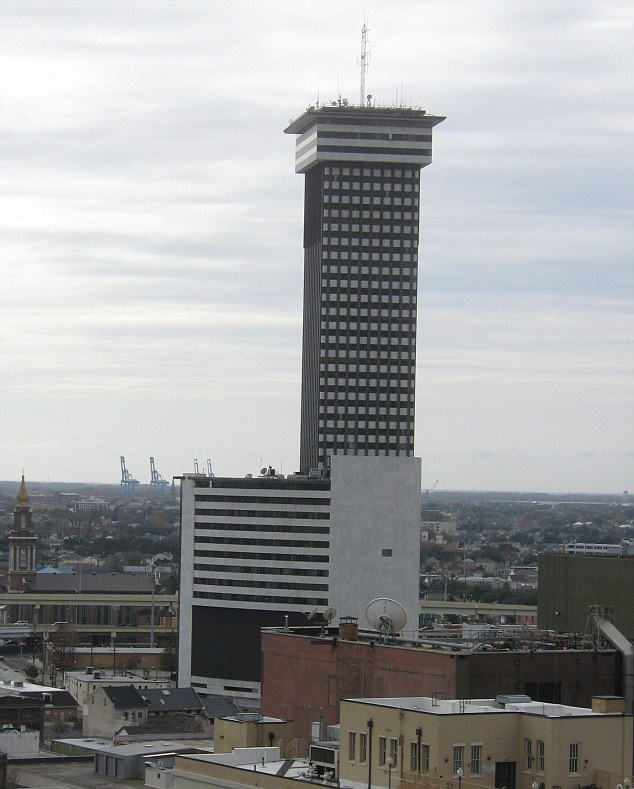 Plaza Tower, for a time dubbed Crescent City Towers and Crescent City Residences, is the third tallest building in Louisiana