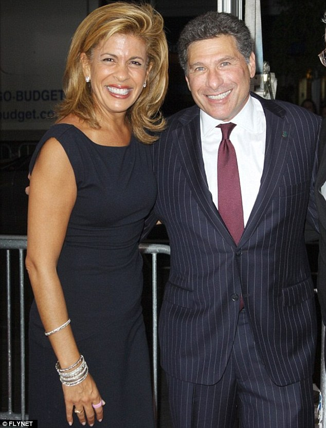 Not the real thing: Hoda declared her love for lawyer Jay Blumenkopf on TV but he called time on the relationship