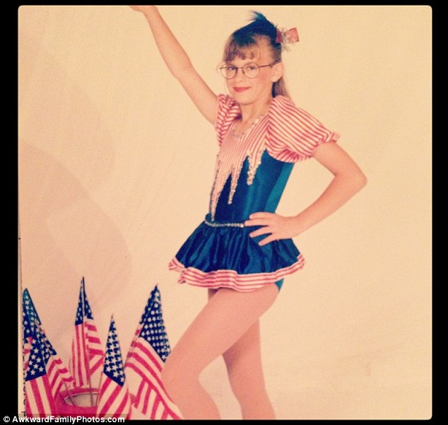 Little Miss America: Red, white & blue are everywhere, but she has to be the star here, right?