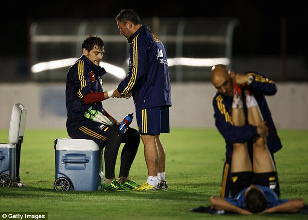 Fall out: Mourinho and Iker Casillas (left) did not get on at Real Madrid and the Spanish press were up in arms