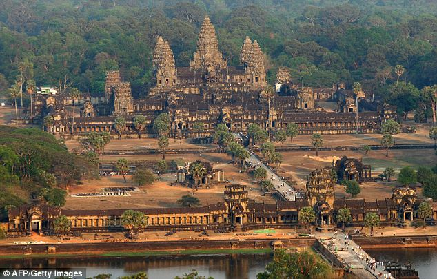 Ancestor: The new-found city predates the famous Angkor Wat temple by 350 years