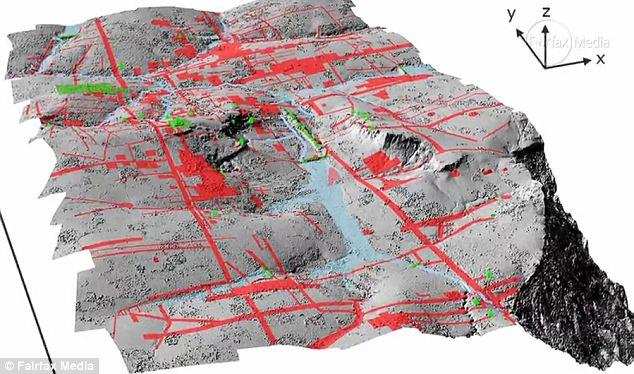 Technology: The airborne Lidar system revealed a long-forgotten urban landscape
