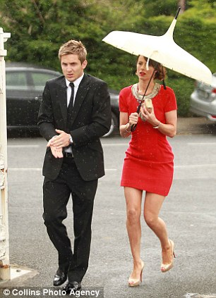 Kevin Doyle with his wife Jenny