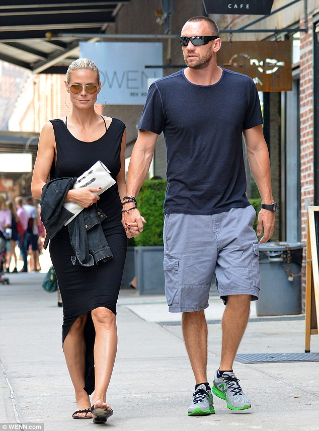 Hungry for more: The loved-up pair worked up quite an appetite and were spotted stepping out for lunch on Saturday afternoon