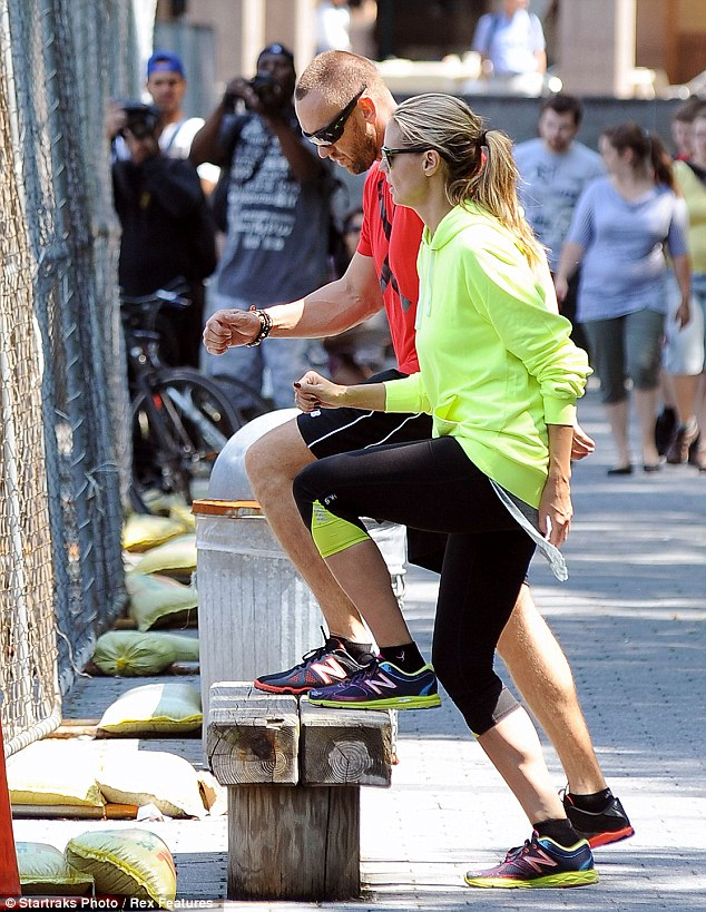 Repetition: Heidi kept up the pace without complaint beside her man